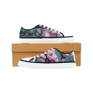 Purple Ganesha Nonslip Canvas Shoes - Maui Woke