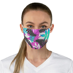 female front view Fern 2-Fabric Face Mask