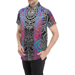 Sacred Geometry Multi Color Shirt - Maui Woke