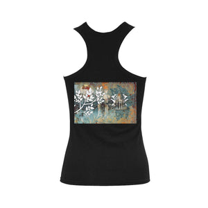 Lotus Rustic Shoulder-Free Tank Top - Maui Woke