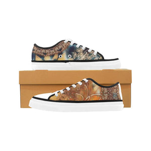 Boho Rustic Women's Nonslip Canvas Shoes-SHD|Maui Woke, Bohemian design - Maui Woke
