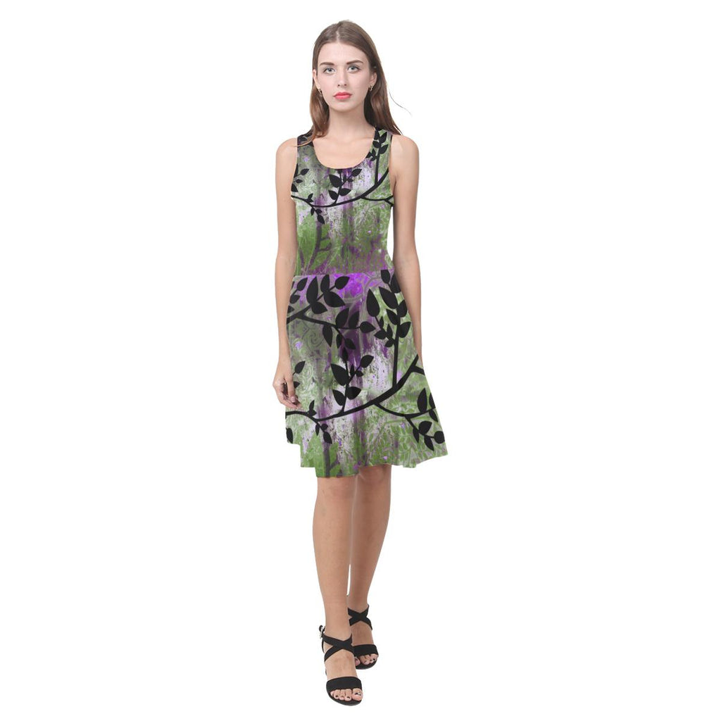 Boho Green Casual Sundress - Maui Woke