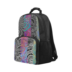 Sacred Geometry Multi Color Laptop Backpack - Maui Woke