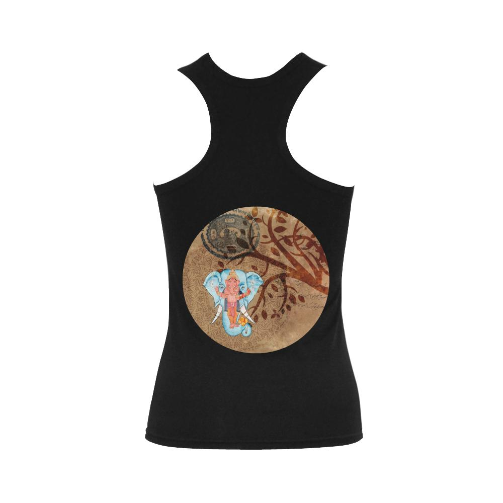 Ganesha Brown Tank Top - Maui Woke