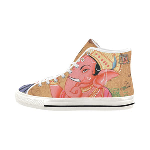 Light Pink Ganesha Vancouver High Top Shoes - Maui Woke
