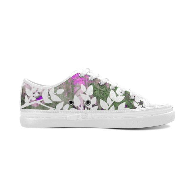 Pink Lotus Nonslip Canvas Shoes - Maui Woke