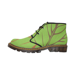 Nature Abstract Canvas Chukka Boots - Maui Woke