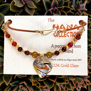 The Hana Collection Gold Deluxe Necklace - Maui Woke