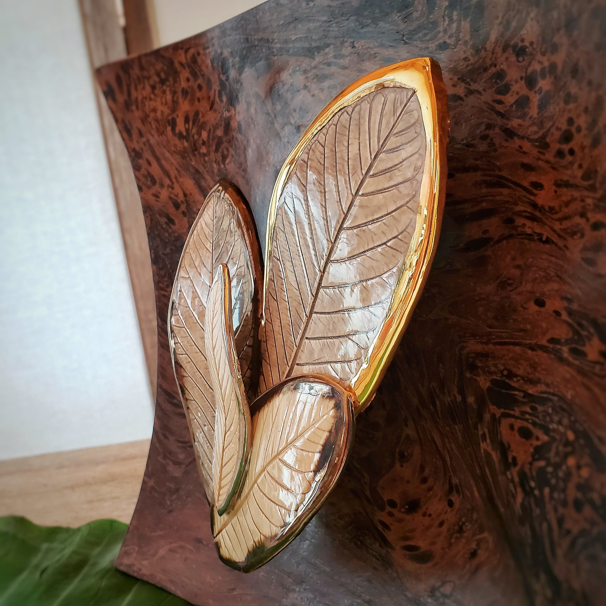 The Hana Collection Wall Art (Guava Leaves)3
