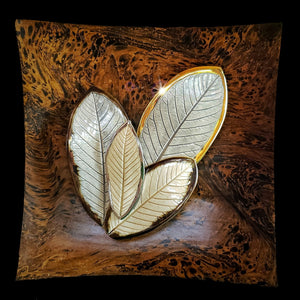 The Hana Collection Wall Art (Guava Leaves)2