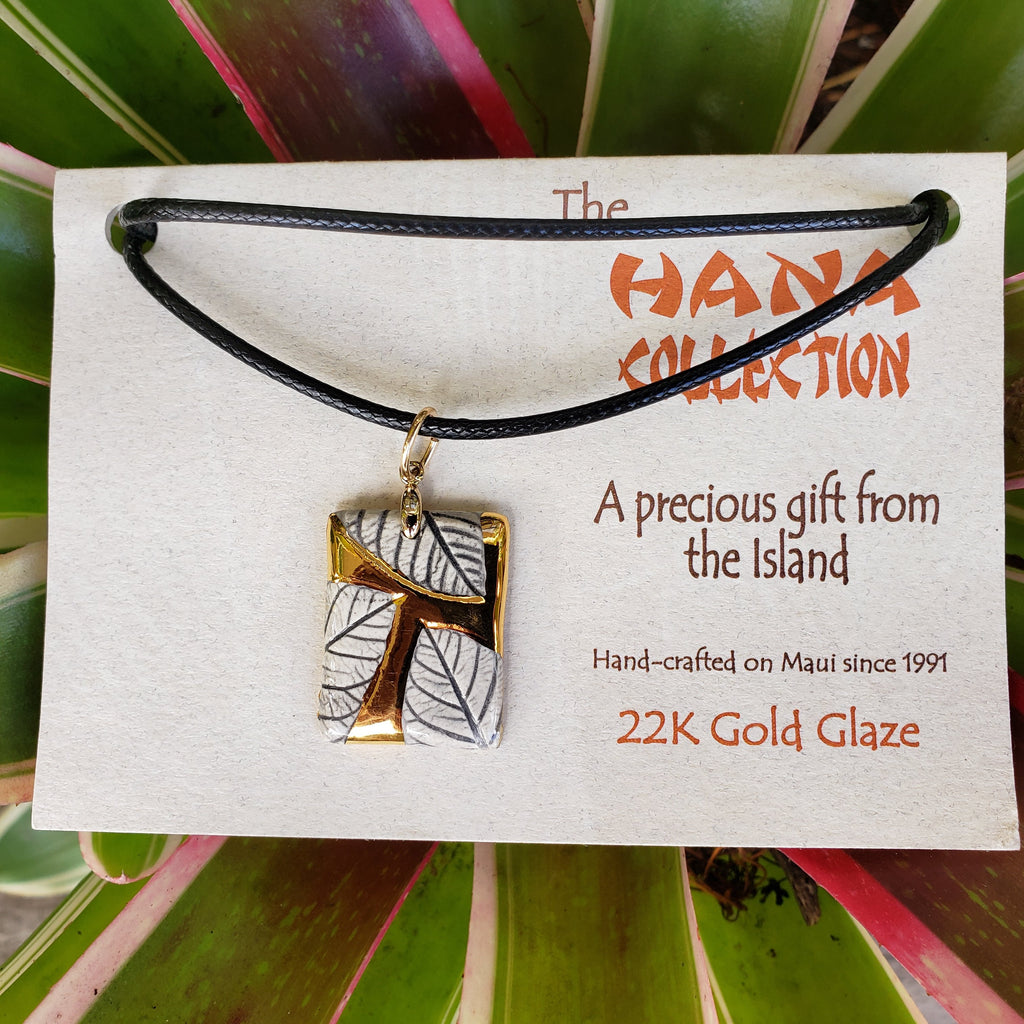 The Hana Collection Gold Pendants-Medium - Maui Woke