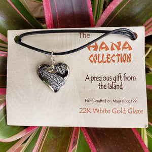 The Hana Collection White Gold Pendants-Medium - Maui Woke