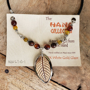 The Hana Collection White Gold Delexe Necklace - Maui Woke