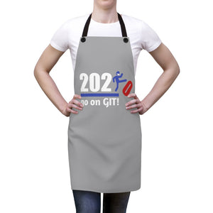Go On GIT! 2020 • Apron • Kick•  Red, White and Blue • Gray - Maui Woke