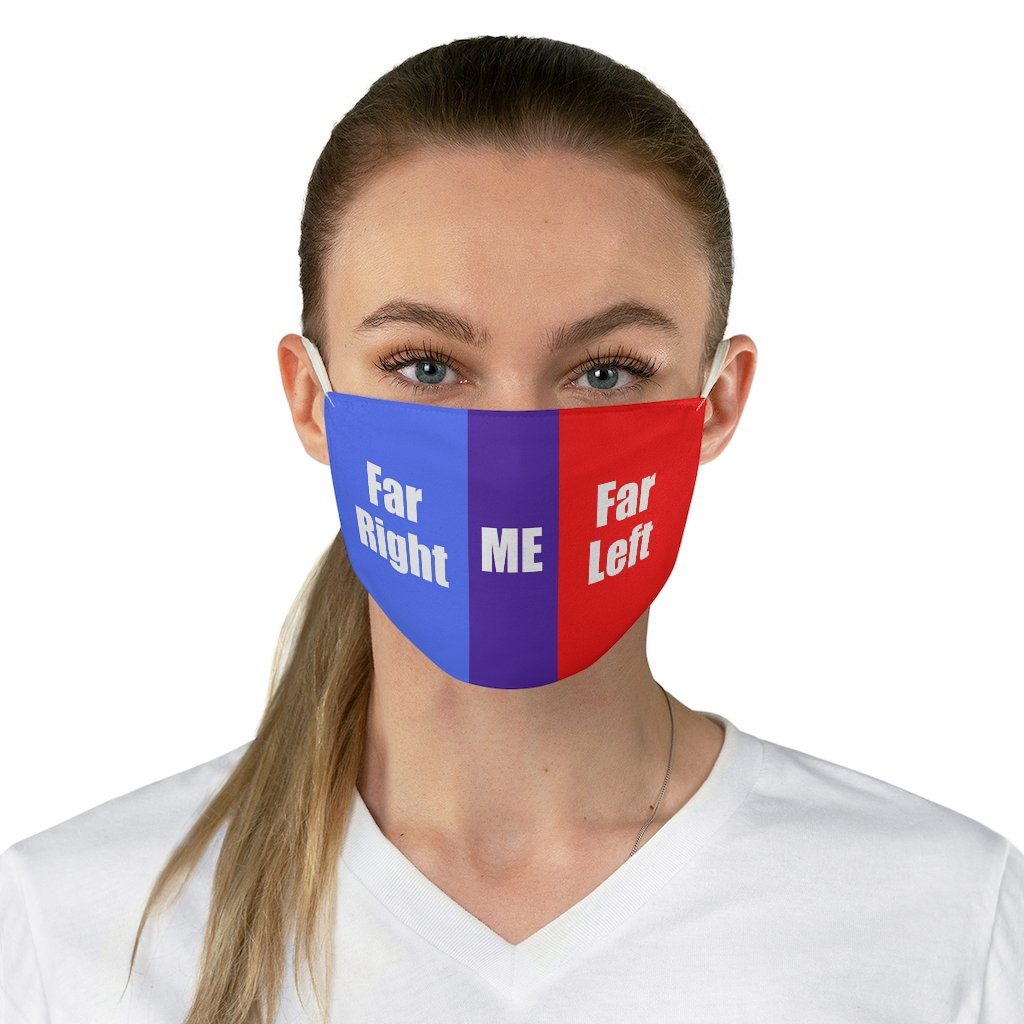 Political Me • Fabric Face Mask - Maui Woke