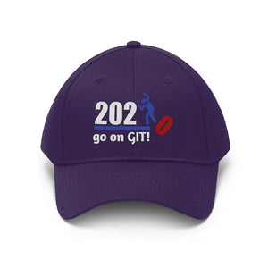Go On GIT! 2020 • Unisex Twill Hat • Kick • Red, White and Blue - Maui Woke