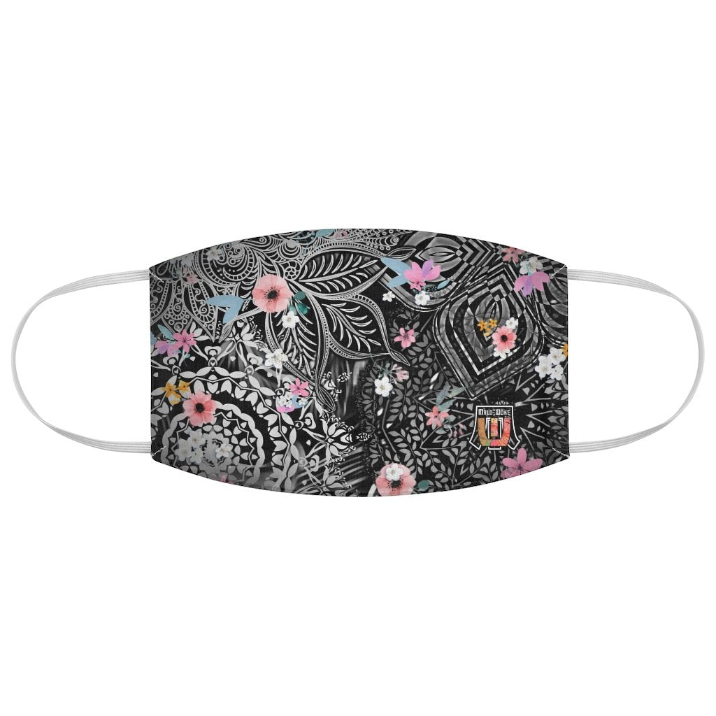 Sacred Geometry Inspired-Flower Fabric Face Mask