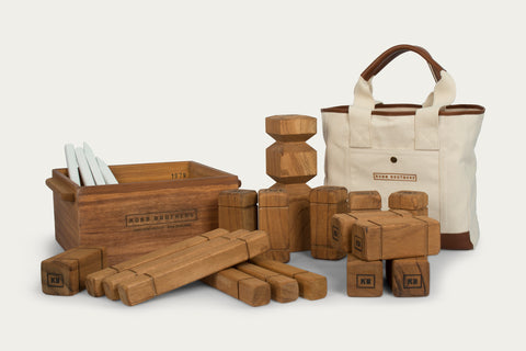 Kubb Set, Bag & Box