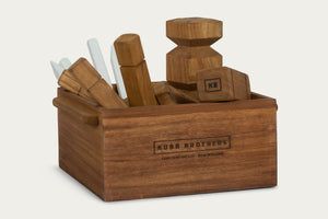 Kubb Set & Box (AVAILABLE MID NOV)