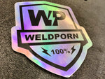 Shield Slap hologram sticker