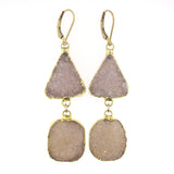 Faye Double Drop Earrings