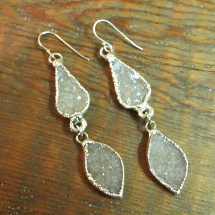 Averett Double Drop Earrings