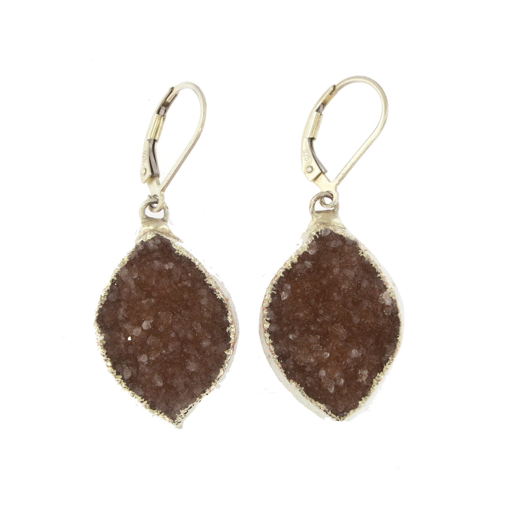 Viola Single Drop Earrings
