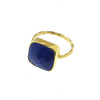 Addison Statement Solitaire - Lapis