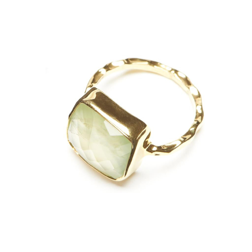 Willow Statement Solitaire - Prehnite