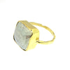 Larkin Statement Solitaire - Pyrite