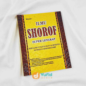 Buku Ilmu Shorof Super Lengkap Penerbit al-Fatih Press