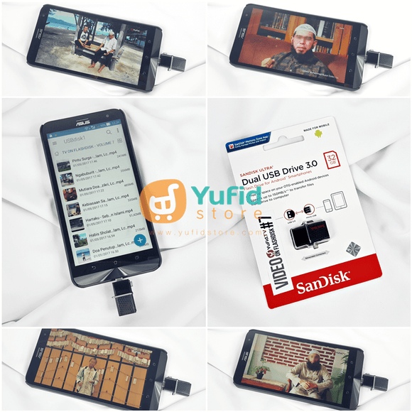 Flashdisk Video Yufid TV Volume 7