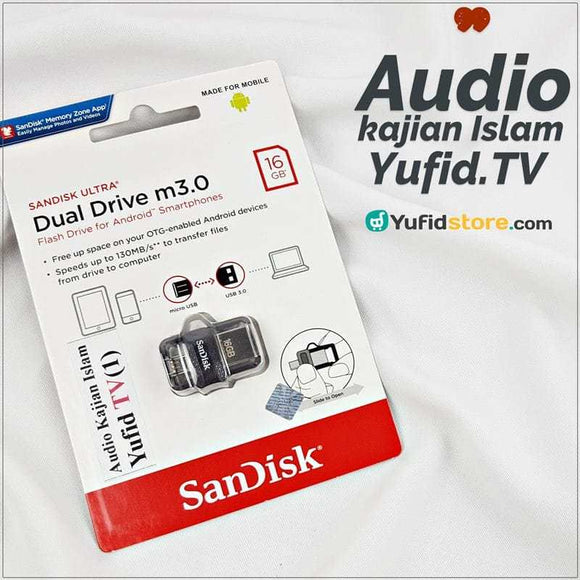 Flashdisk Audio Kajian Islam Yufid TV