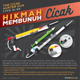 The Cicak Hunter Gun Type 21.69