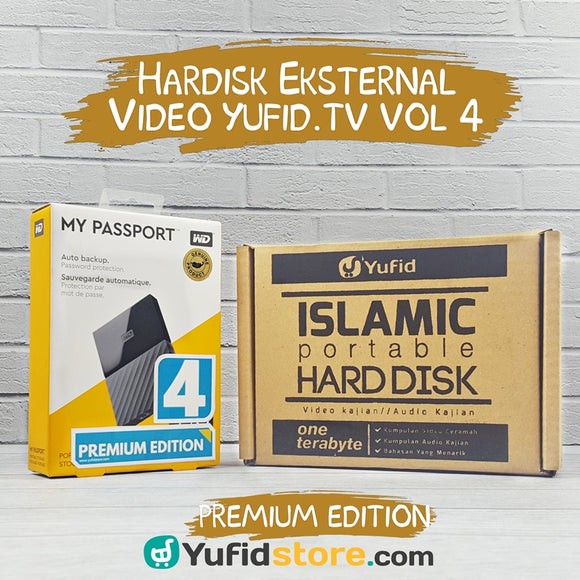 Harddisk Eksternal Video Yufid.TV Volume 4 Premium Edition