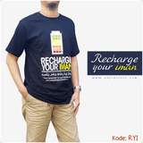 Kaos Dakwah Recharge Your Iman