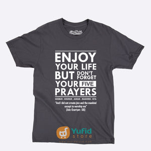 ProSharia Kaos Dakwah Enjoy Your Life