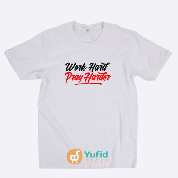 ProSharia Kaos Dakwah Work Hard Pray Harder