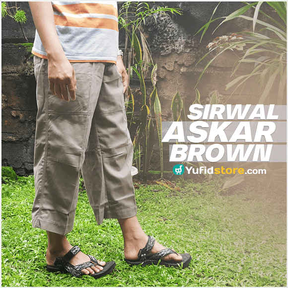 Sirwal Muslim Askar Brown