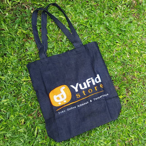 Totebag Denim Yufid Store
