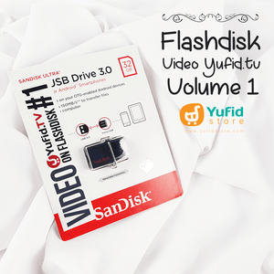 Video Yufid Tv Volume 1 Di Flashdisk Dual USB Drive