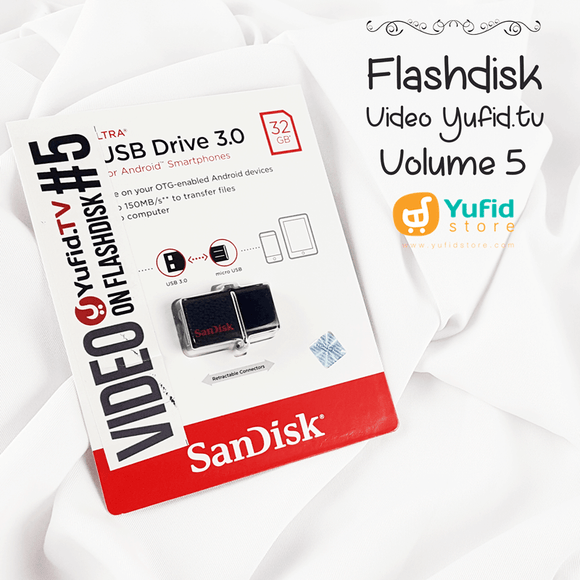 Video Yufid Tv Volume 5 Di Flashdisk Dual USB Drive
