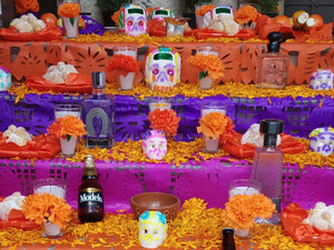 "Mexican ""Ofrendas"" of ""Dia de Muertos"" (Day of the Dead)"