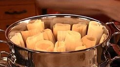 How to make homemade Sweet Guava-Cream Cheese Tamales (tamales dulces)