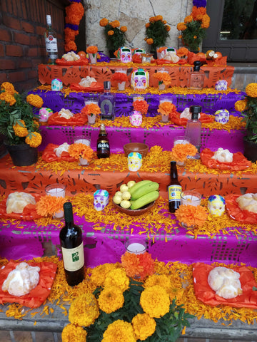 ofrenda altar dia de muertos day of the dead