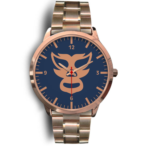 Luchador Rose Gold Watch