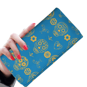 Calaveras blue Women's Wallet
