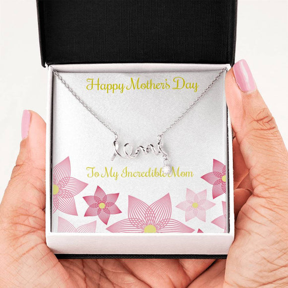 Love Necklace for mother's day