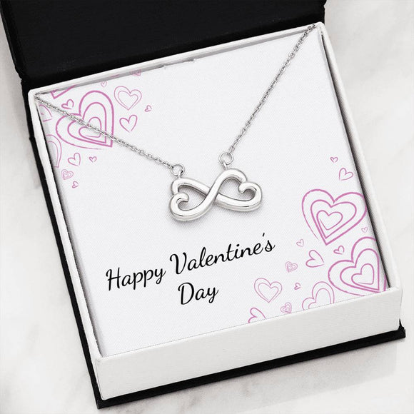 Infinity Heart Necklace with