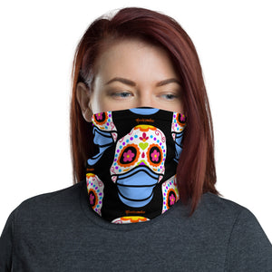 Day of the Dead (Dia Muertos) Sugar Skull with Face Mask Halloween 2020 Neck Gaiter